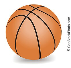 vector basketball - Orange basketball Sport - Vector...