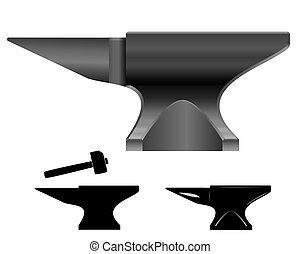 Anvil vector illustration - you can simply change color and...