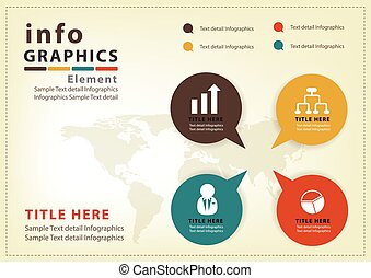 Modern infographic Design Vector