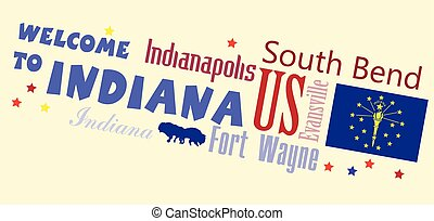 Welcome to Indiana Abstract banner - Welcome to Indiana -...