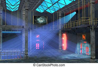 Sci-Fi nightclub