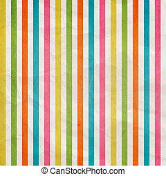 Retro stripe pattern - background with colored pink, cyan, yellow, orange, green, white  vertical stripes