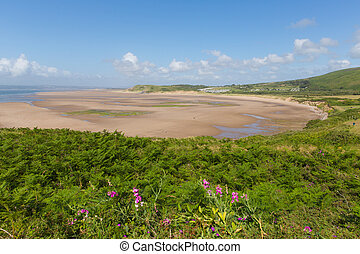 Broughton Bay the Gower Wales - Broughton Bay the Gower...