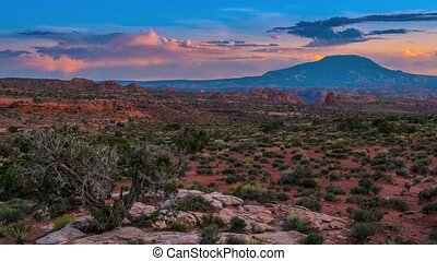Navajo Mountain Utah 4k timelapse - Beautiful Navajo...
