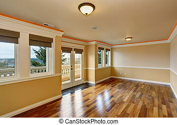 Lovely unfurnished room with windows. - Lovely unfurnished...