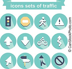 icons of traffic
