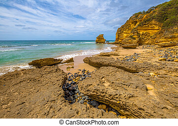 Aireys Inlet Victoria - Spectacular Step Beach in Eagle...