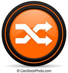 aleatory orange icon