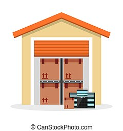 data storage design, vector illustration eps10 graphic