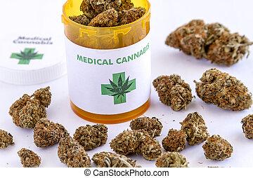 Medical Marijuana Buds and Seeds - Medical marijuana buds...