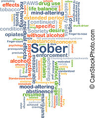 Sober background concept - Background concept wordcloud...