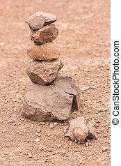 Sort stones to renew their faith
