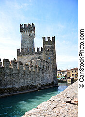 Scaliger Castle - Garda Sirmione city italy Scaliger Castle...