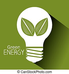 Green energy design.