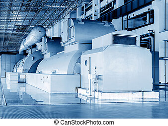 Generator - Thermal power plants, large-scale thermal power...