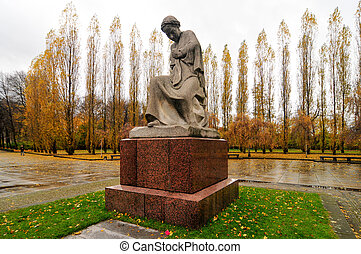 Soviet War Memorial in Treptower Park, Berlin, Germany...