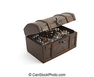 Woman\'s treasure chest