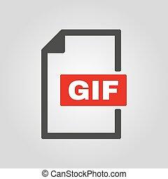 plat, pictogram, symbool, bestand, Formaat