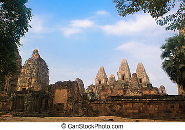 Ancient temple in Angkor