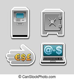 banking stickers