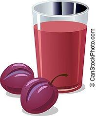 plums juice