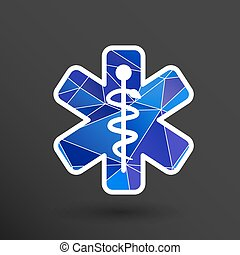 Medical icons silhouette vector illustration doctor -...
