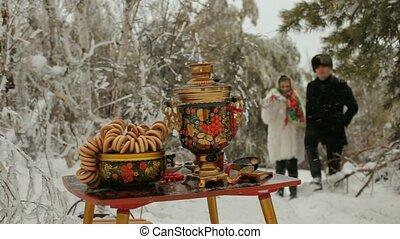 Russian Winter Picnic