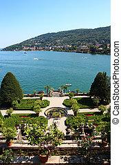 Isola, Bella, maggiore, lago, italia,