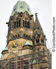 Kaiser Wilhelm Memorial Church - Berlin, Germany - November...