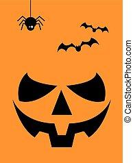 Halloween Laughing Pumpkin