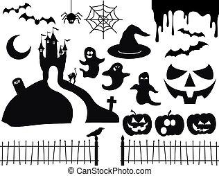 Halloween vector pack 2
