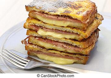 monte cristo sandwich, american food
