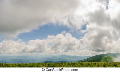 Carvers Gap - Time Lapse of Carvers Gap