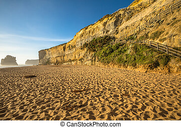 Port Campbell National Park - Gibson Steps beach in Port...