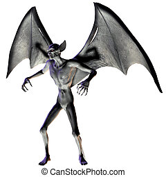 Vampire - Halloween Figure - 3D Render of an Vampire