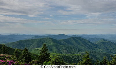 TL Grassy Ridge NC - A time lapse of the Blue Ridge...