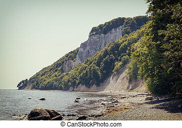 Island Ruegen, Chalk Coast, Germany - Island Ruegen, Chalk...