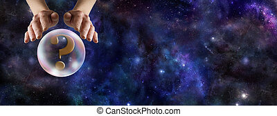 What does the Crystal Ball Reveal - Wide deep space...