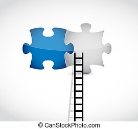 ladder to the missing pieces concept