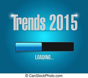 trends 2015 loading bar illustration design graphic