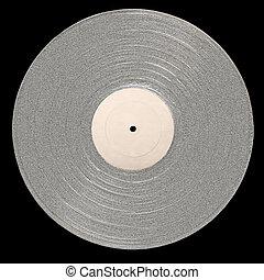 Platinum Abum - P Platinum Album with empty label for copy...