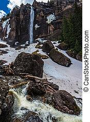 Bridal Veil Falls Telluride Colorado - Bridal Veil Falls...