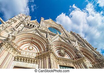 Santa Maria Assunta Cathedral in Siena, Italy - SIENA, ITALY...