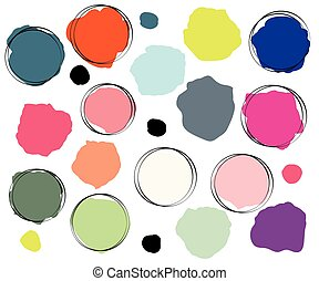 abstract color splash - bright color splash abstract...