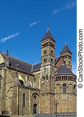 Basilica of Saint Servatius, Maastricht, Netherlands - The...