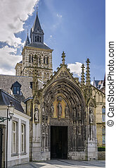 Basilica of Saint Servatius, Maastricht, Netherlands - The...
