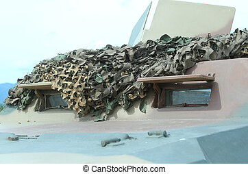 military truck Camo for war missions - Armored military...