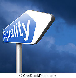 equality for everybody and solidarity equal rights and...