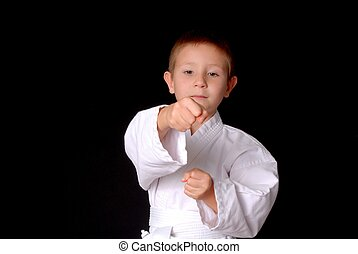 karate, niño