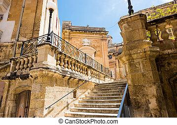 church of St. Lawrence in Valletta's Birgu in Malta